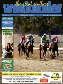 Cover Photo from the Kojonup Races