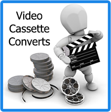 AtoZ-Visual Video Cassette Converts