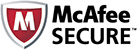 The site is McAfee SECURE